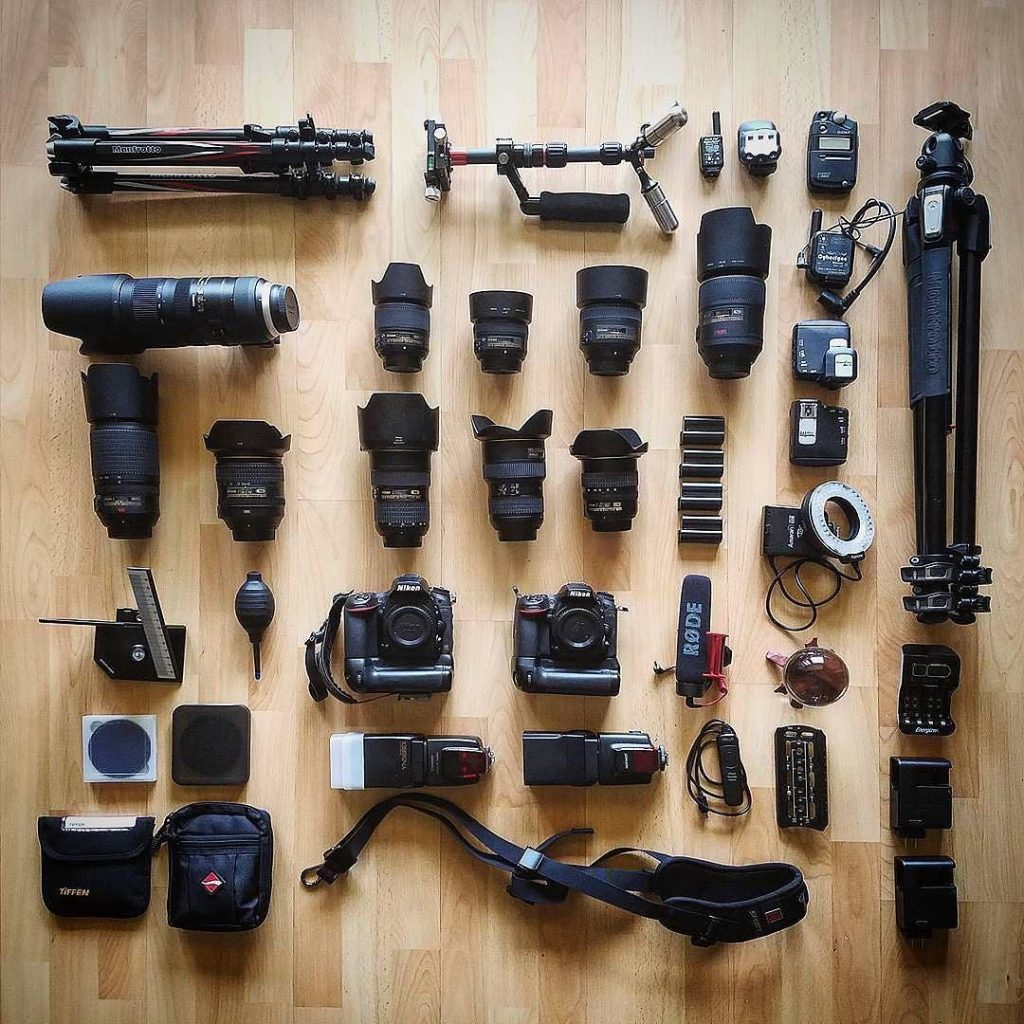 Gear Nikon for events
